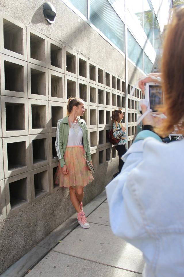So sah es dann aus, wenn eine Horde Blogger in Mainz nach den besten Fotolocations Ausschau hielt ...